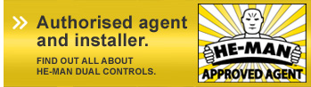 Authorised agent and installer - He-Man Dual Controls